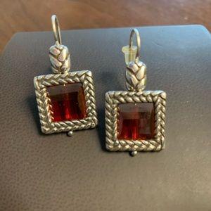 Brighton jeweled earrings